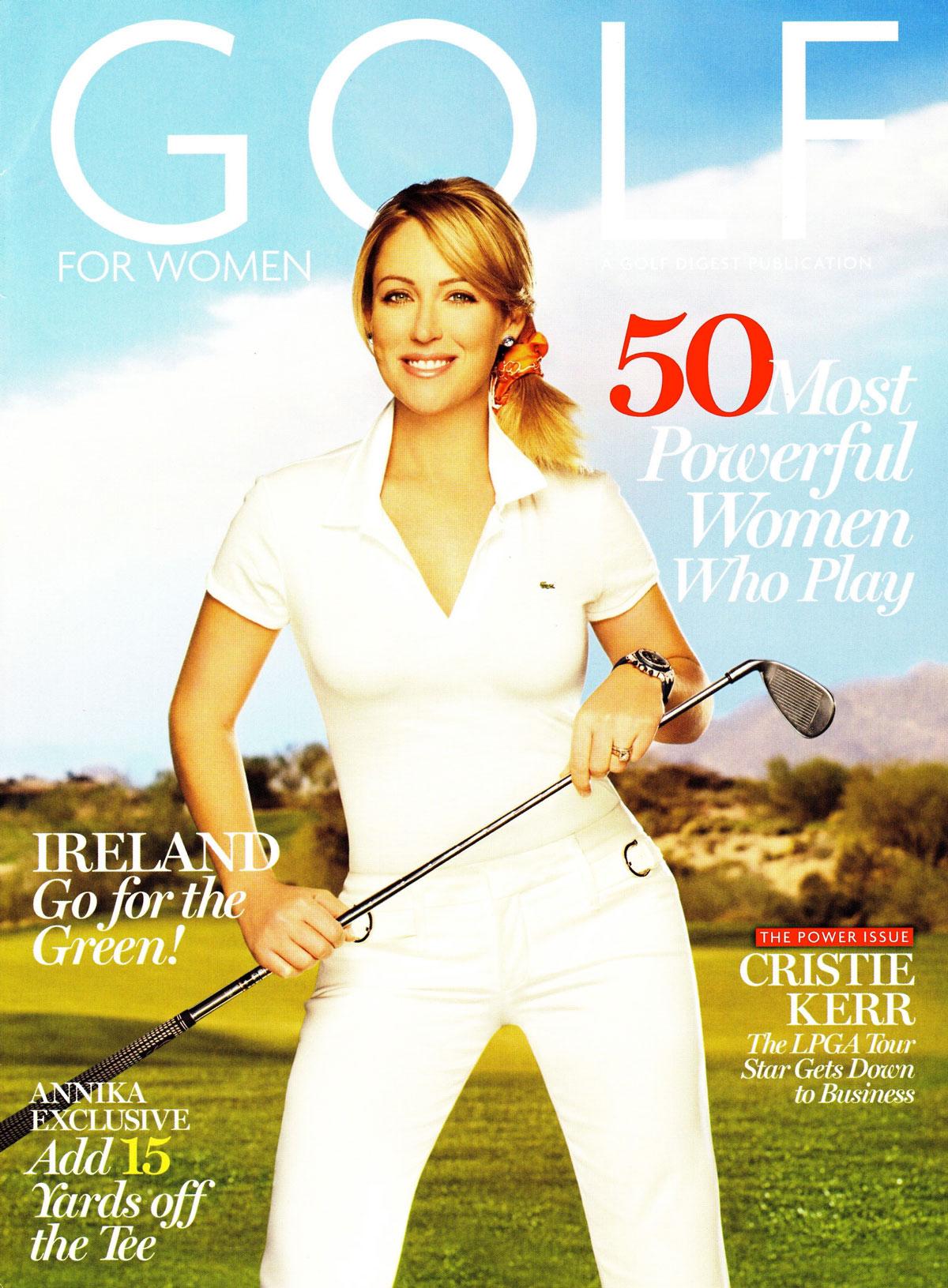 Golf Digest | Cristie Kerr