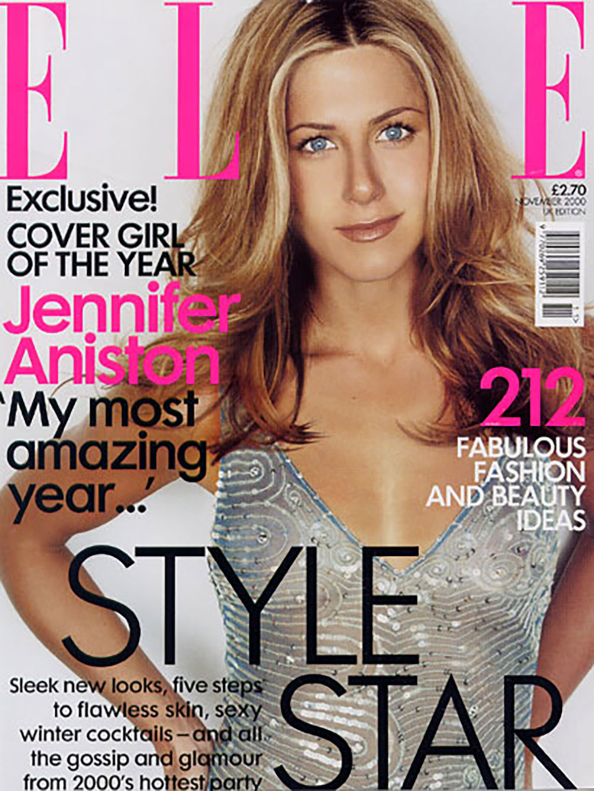 Elle UK | Jennifer Aniston