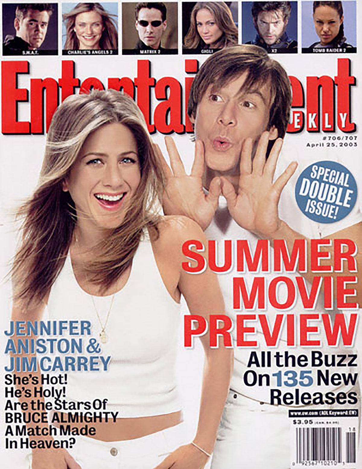 Entertainment Weekly | Jennifer Aniston