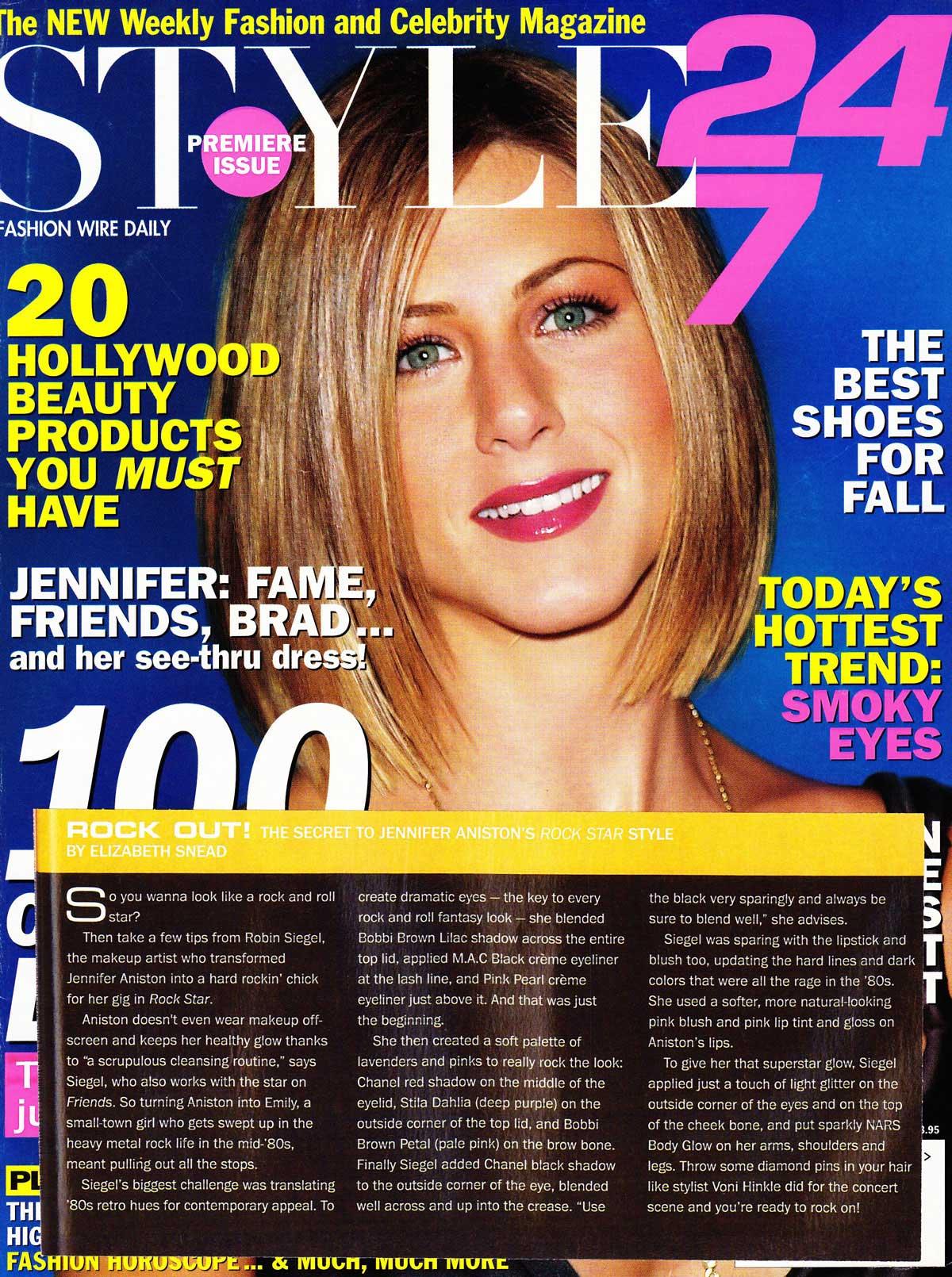 Style 24/7 | Jennifer Aniston
