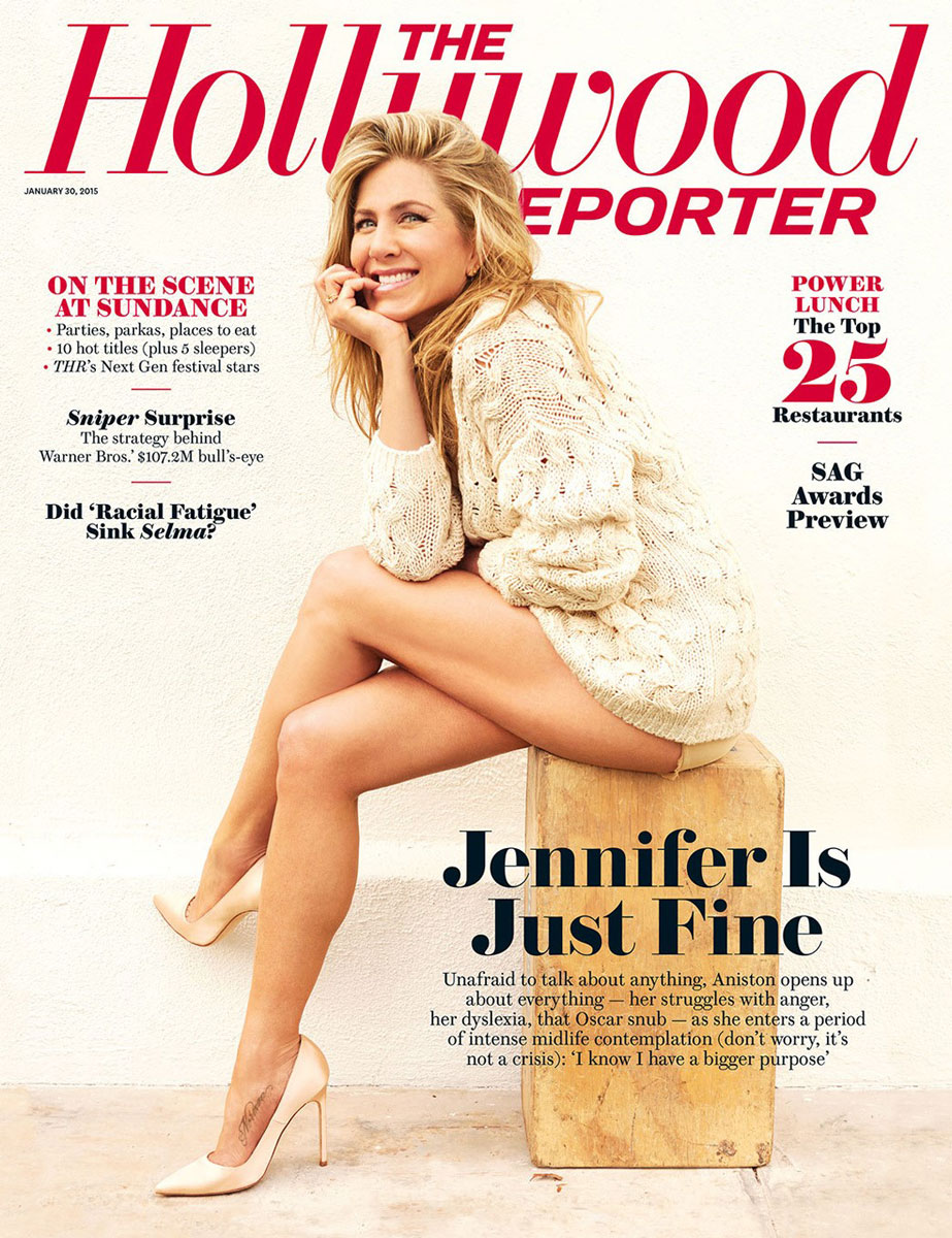 The Hollywood Reporter 2015 | Jennifer Aniston